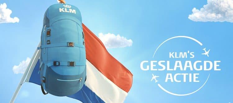 KLM verrast geslaagde eindexamenkandidaten