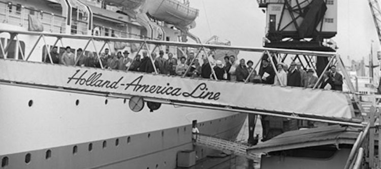 Megaproject digitalisering passagierslijsten Holland Amerika Lijn