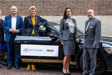 Hertz eerste niet-luchtvaartmaatschappij partner van SkyTeam