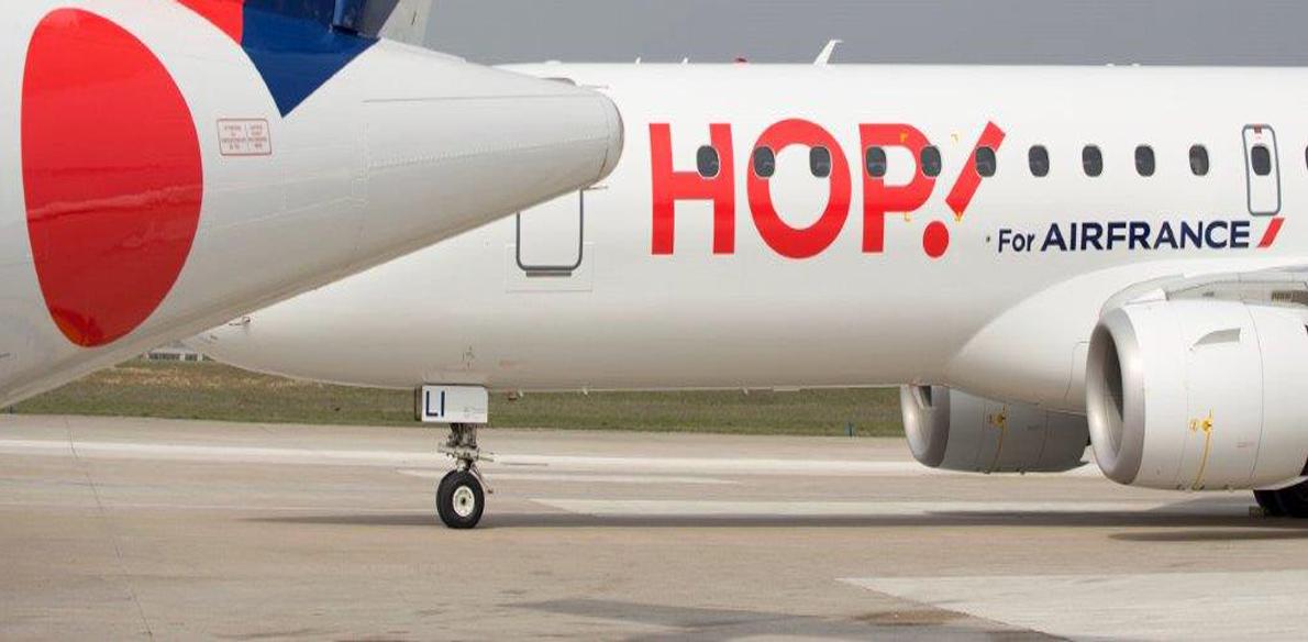 Zomervluchten lowcost airline HOP! boekbaar