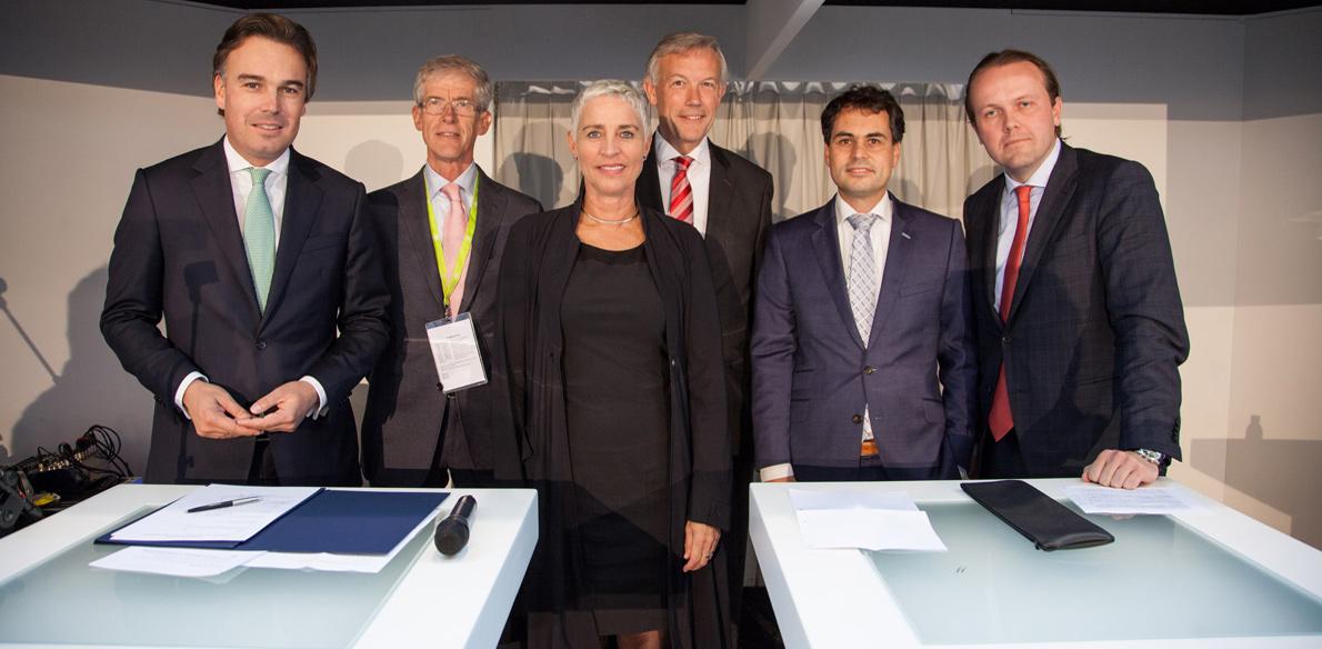Intentieverklaring 'Bioport for jet fuels in the Netherlands'