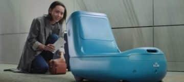KLM test nieuwe robot Care-E in Amerika