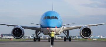 KLM verwelkomt tiende Boeing 787-9 Dreamliner