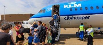 Groeiend aantal passagiers KLM Groep