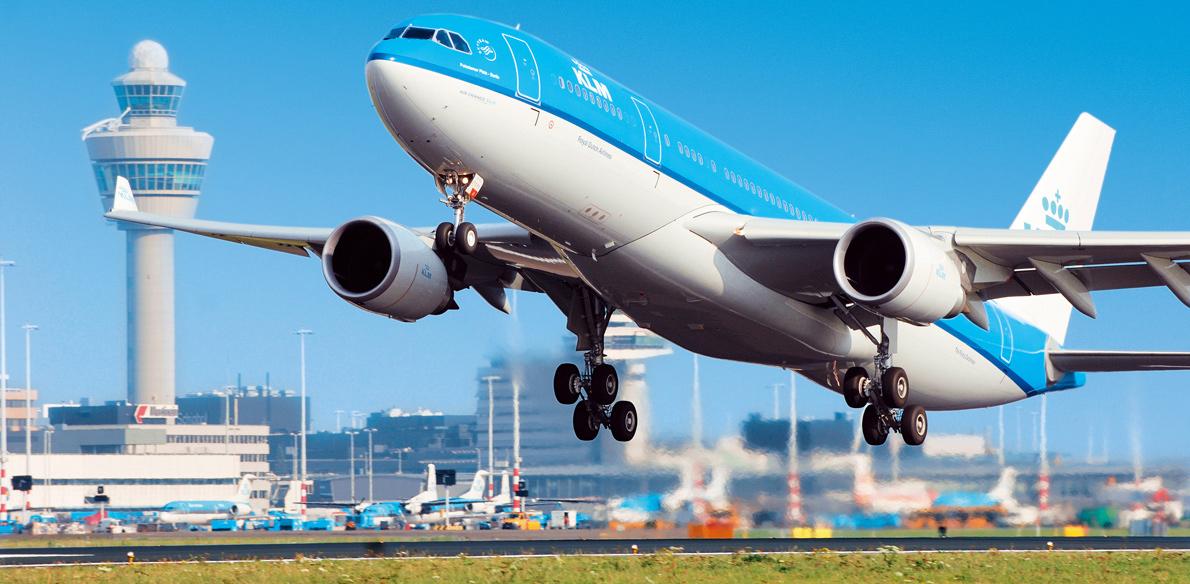 KLM: elektronische apparatuur mag vanaf 1 april