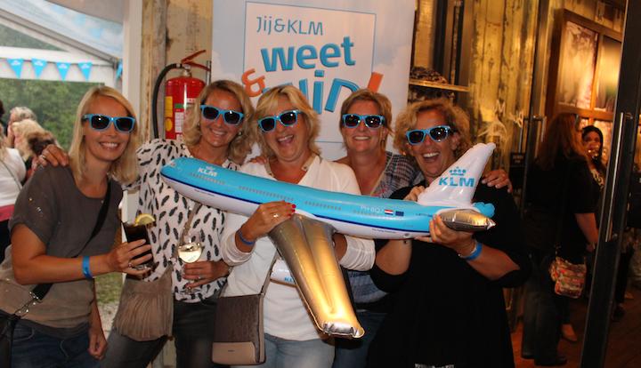 Jij&KLM Beachborrel op 23 augustus