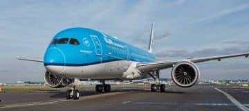 KLM: groei vlakt af in mei