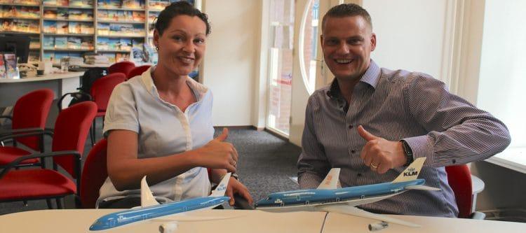 Video KLM on Tour met onder andere agententickets...