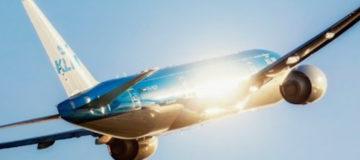 KLM: groei aantal passagiers zet door
