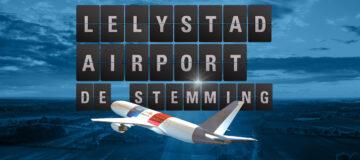 Regionale omroepen presenteren uitkomsten grote opiniepeiling over Lelystad Airport