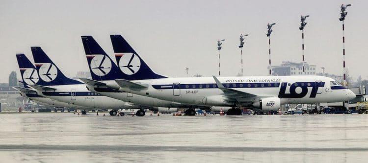 Skopje en Podgorica nieuw bij LOT Polish Airlines