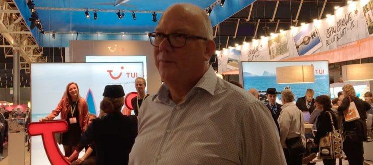 """Video - Van der Veer (TUI): """"Meer reisagenten op TUI-stand Vakantiebeurs"""""""