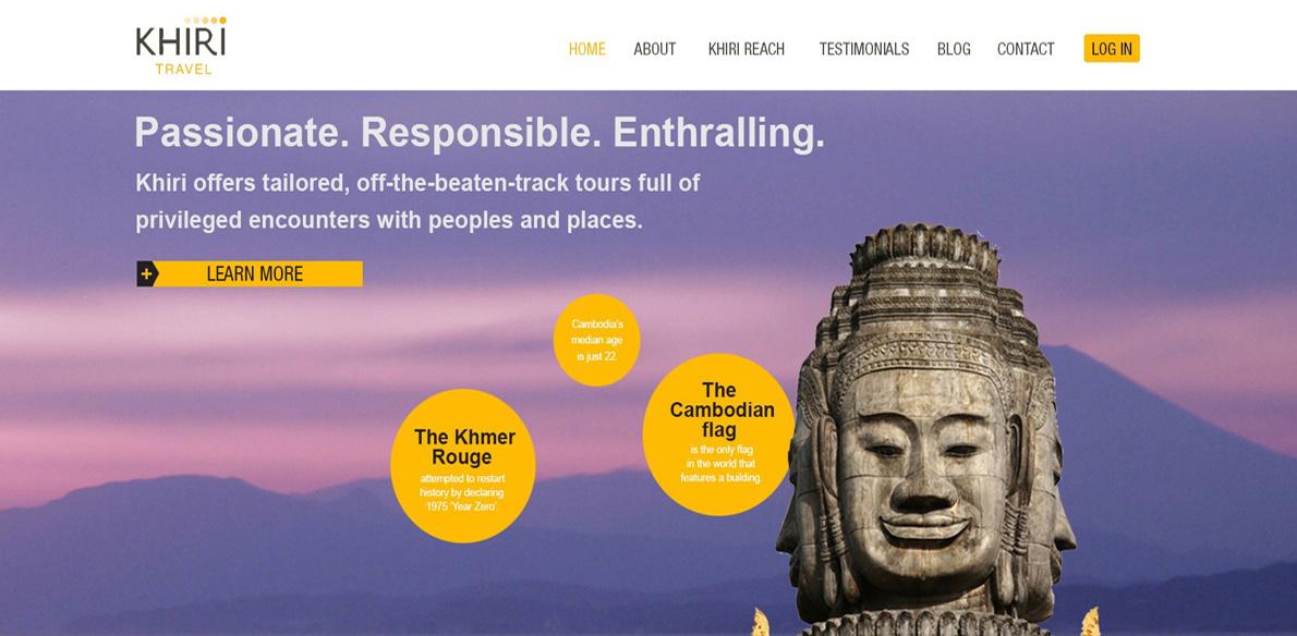 Meer voor trade op nieuwe site Khiri Travel
