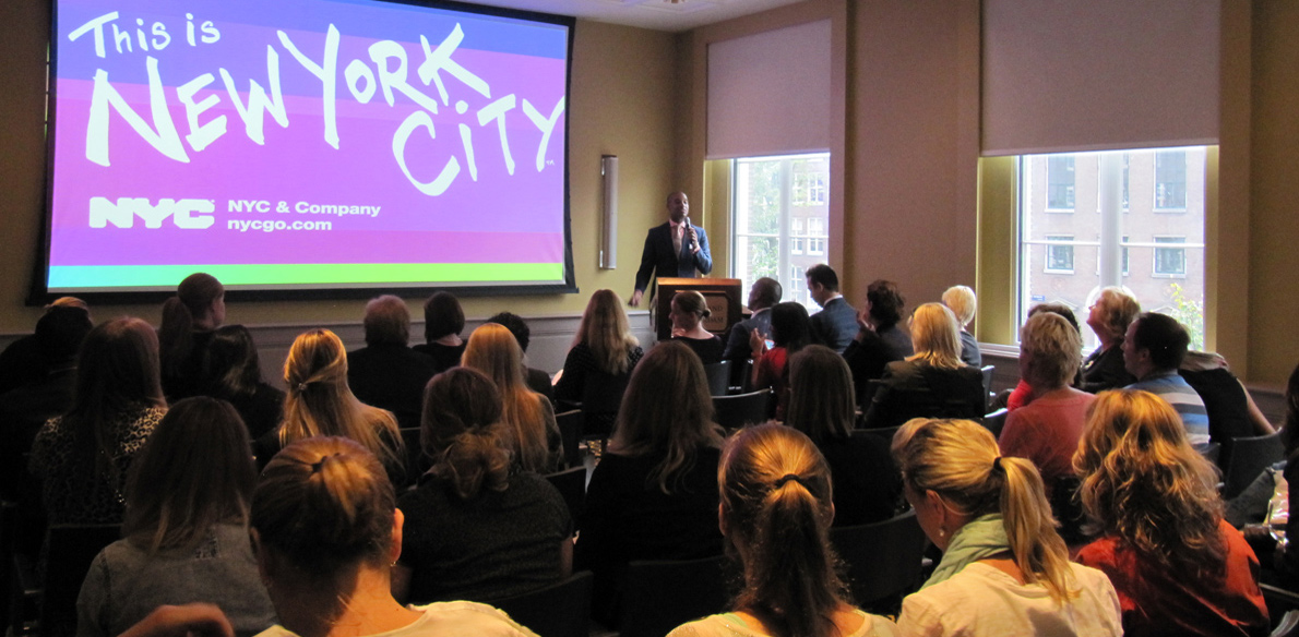 NYC & Company Travel Agent Workshop druk bezocht