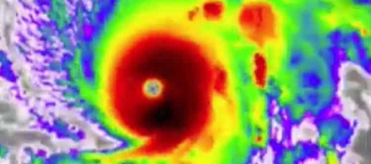 Zware orkaan richting Hawaï...