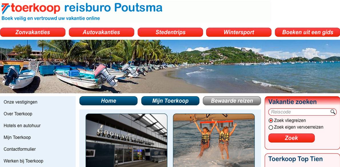 Reisburo Poutsma failliet verklaard
