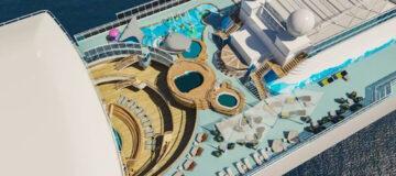 Princess Cruises lanceert nieuw waterpark op Caribbean Princess