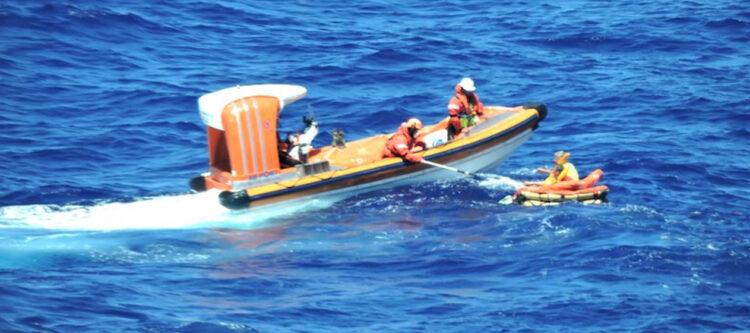 Video - Overlevenden vliegtuigcrash gered door cruiseschip Regal Princess