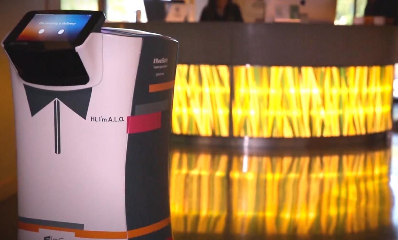 Amerikaans hotel neemt robot butler in gebruik (video)