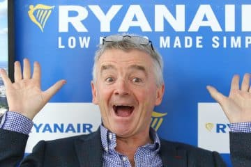 CEO van Ryanair Michael O'Leary