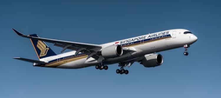 Langste commerciële vlucht uitgevoerd door Singapore Airlines