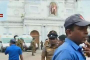 Ontploffingen in hotels en kerken in Sri Lanka