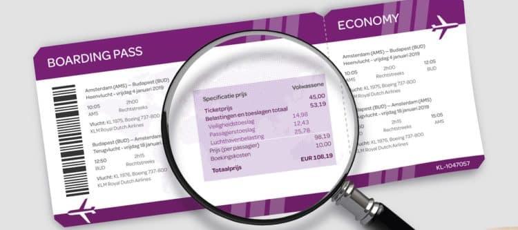 Feiten en cijfers vliegbelastingen en heffingen