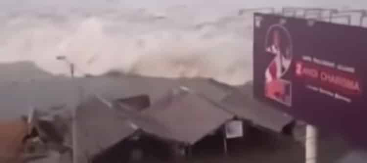 Aardbeving en tsunami treffen Indonesië