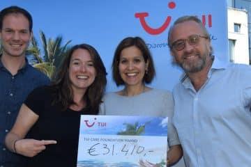 TUI Care Foundation maand groot succes