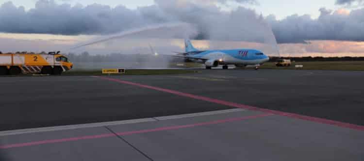 TUI breidt regioaanbod uit met eigen TUI fly vluchten vanaf Groningen