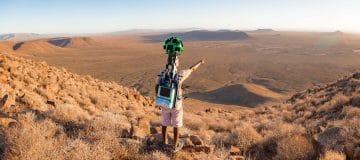 Zuid-Afrika: 170 nieuwe routes 360-graden op Google Street View